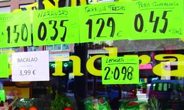 La subida de los precios de productos y suministros básicos, otra razón de peso para subir el SMI y extender el IMV
