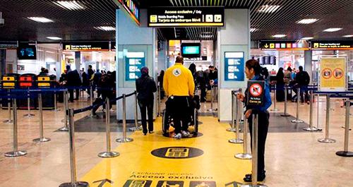 Aena pone en riesgo el mantenimiento del empleo de la seguridad privada en el conjunto de su red aeroportuaria