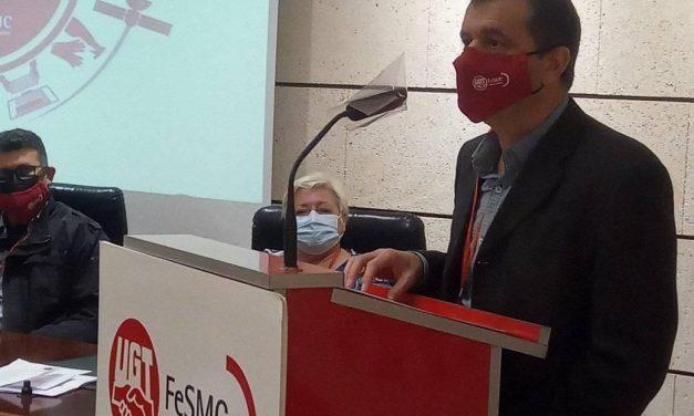 José Hernández Aparicio, reelegido como Secretario general de FeSMC-UGT Región de Murcia
