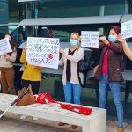 Tres días de protestas del personal de limpieza de Son Espases