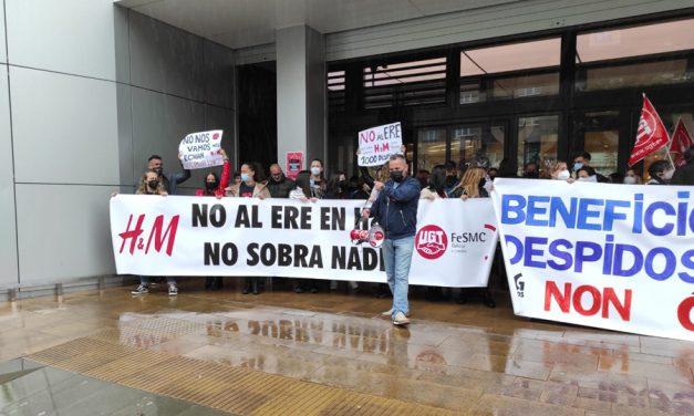 Segunda jornada de huelga en H&M