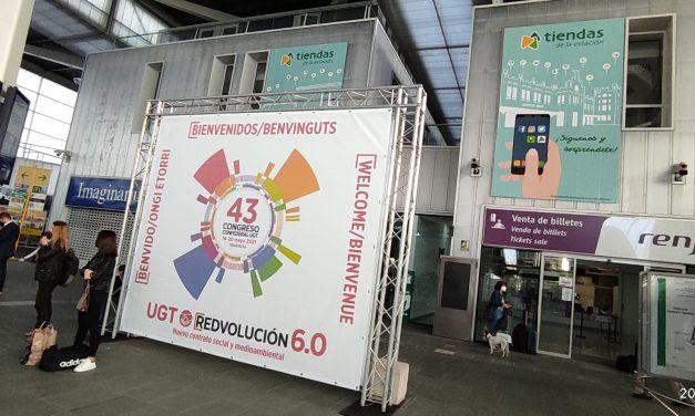 FeSMC-UGT acude al 43º Congreso de UGT con la mochila cargada de propuestas