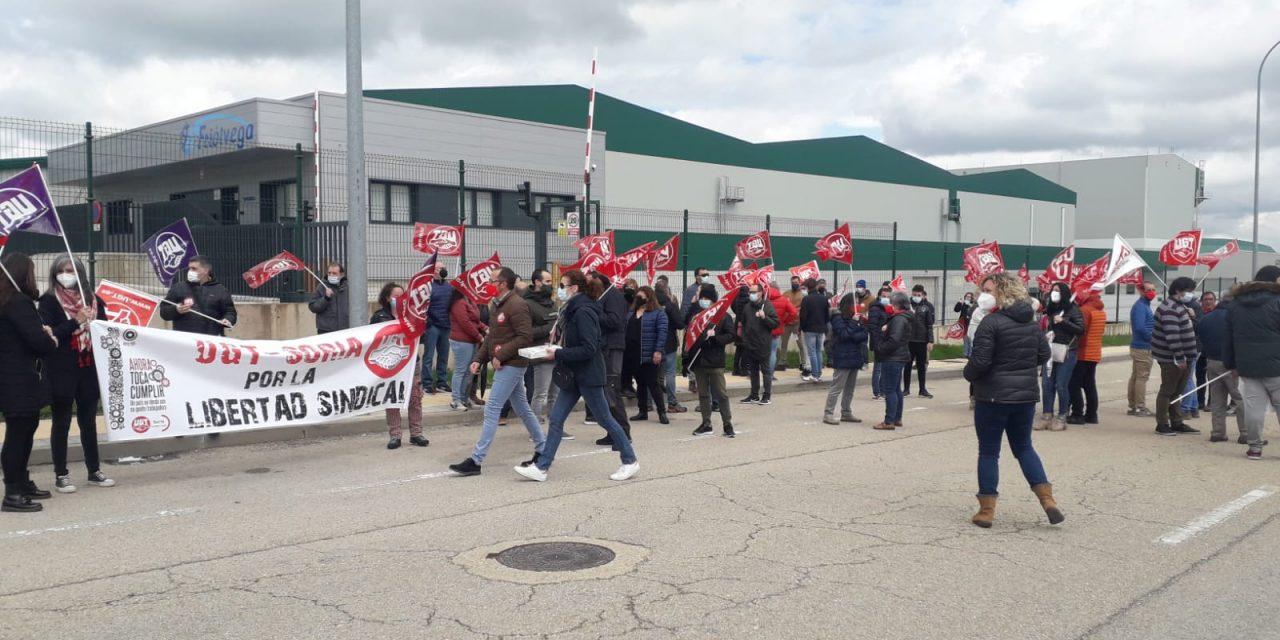 UGT-Soria señala a la empresa de transporte Friolvega por pisotear la libertad sindical