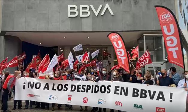 Movilizaciones y Huelga en el BBVA