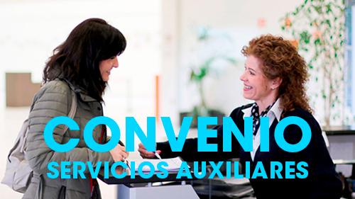 UGT y CCOO presentan conjuntamente los puntos de negociación del primer convenio estatal de servicios auxiliares