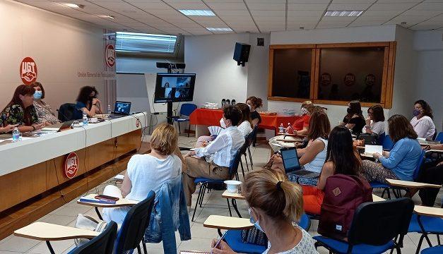 FeSMC-UGT participa en la primera reunión de la Coordinadora de igualdad entre hombres y mujeres de UGT