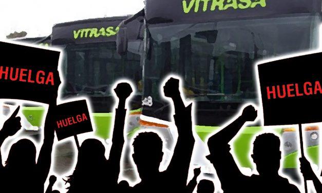 Huelga en los urbanos de Vigo
