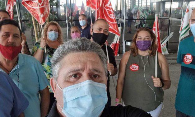 Conflicto vigilantes aeropuerto de Málaga