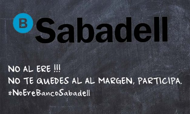 UGT califica de insultante la 2ª reunión de negociación del ERE en el Banco Sabadell