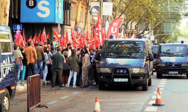 Movilizaciones en toda España contra el ERE en Banco Sabadell