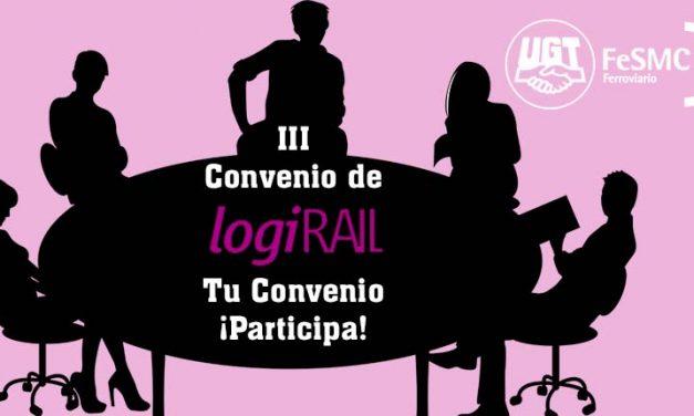 UGT denuncia el Convenio Colectivo para iniciar la negociación del III Convenio Colectivo de LogiRail